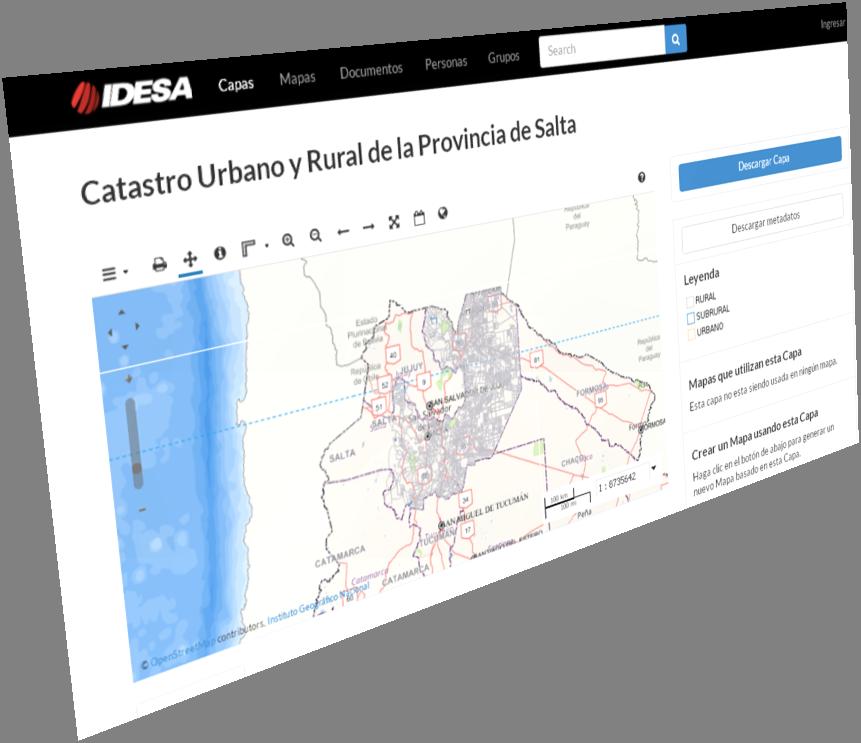 Actualización: Capa SIG Catastro Urbano y Rural de Salta – versión 14