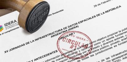 XV Jornadas IDERA – Santiago del Estero 2020 / Circular #1