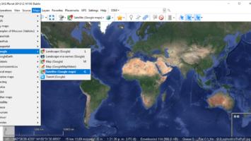 Obtener imagen de alta resolución para componer un mapa en Qgis