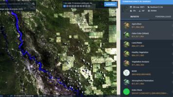 Descarga de Imágenes Satelitales con LandViewer y visualización mediante QGIS