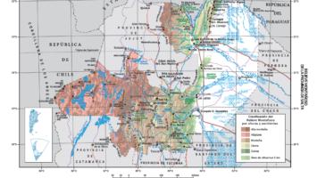 Nuevo Mapa Temático: Relieve Montañoso de la Provincia de Salta (IGN-SEGEMAR)