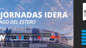 XV JORNADAS IDERA – COMPARTIENDO INFORMACIÓN AL SERVICIO DEL PAIS