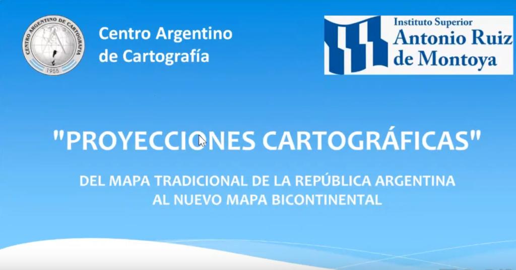 Proyecciones Cartográficas – Webinar