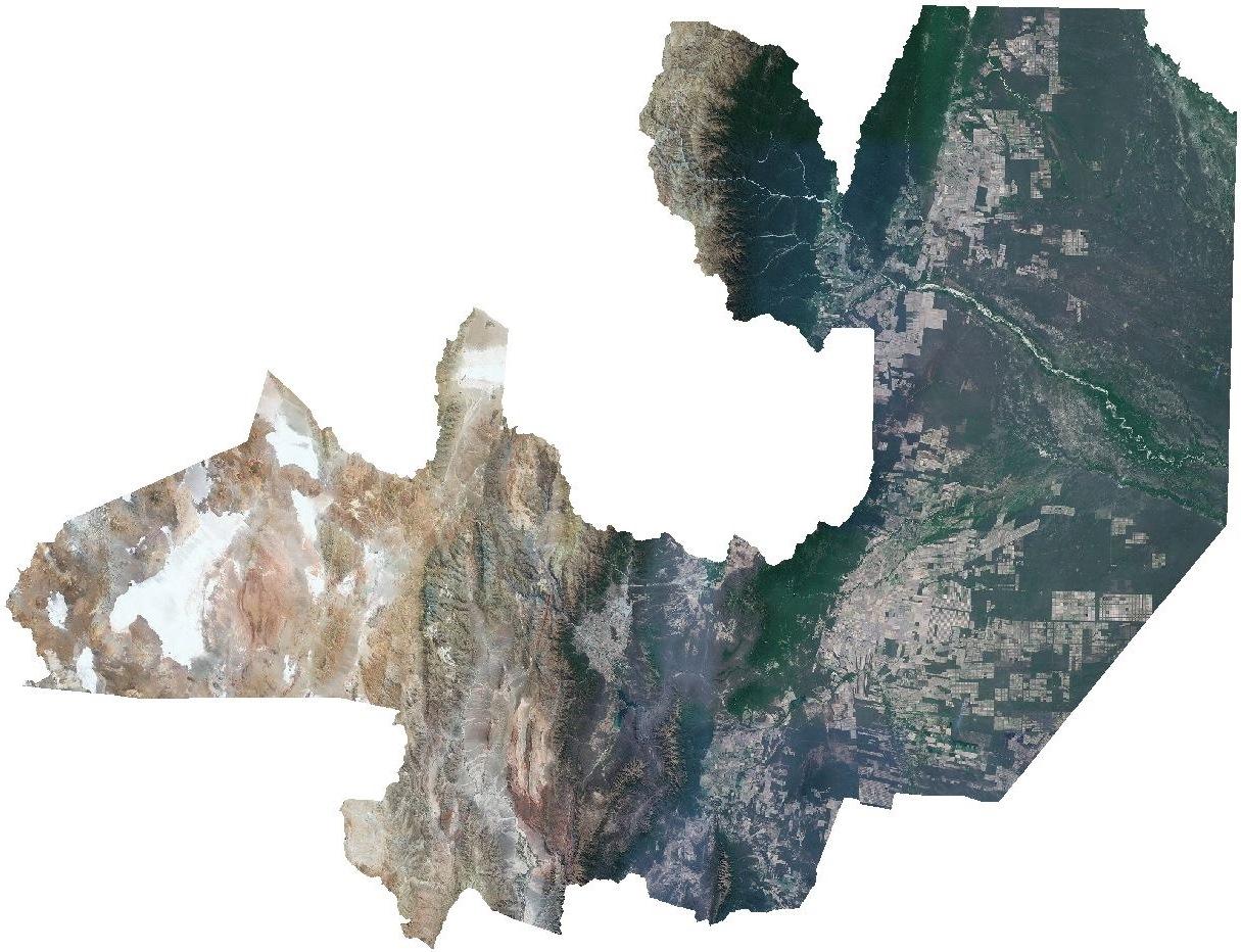 Mosaicos satelitales provinciales – IGN