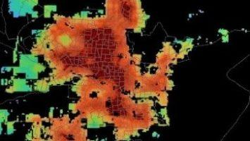 Datos de población y asentamientos usando imágenes satelitales